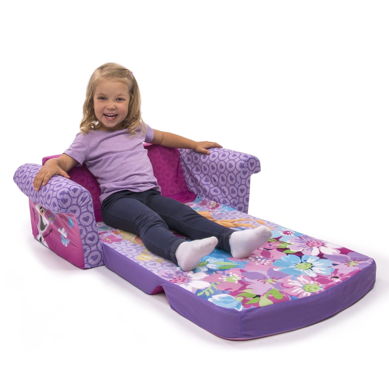Amazon Com Marshmallow Children S Furniture Disney Frozen Flip