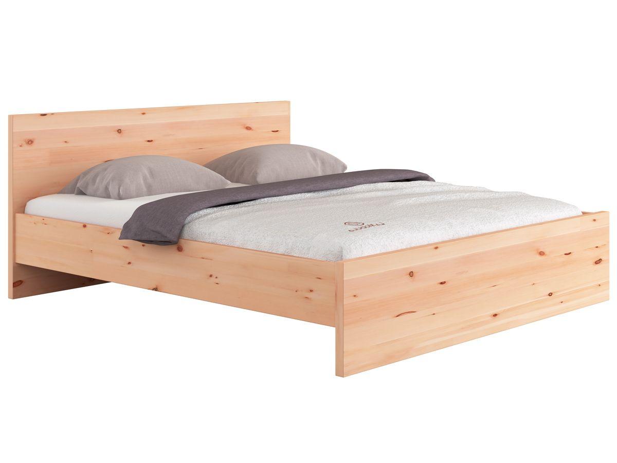 Zirbenbett Raphaela Mit Bildern Bett Kopfteil Design Bett Diy Mobel Schlafzimmer