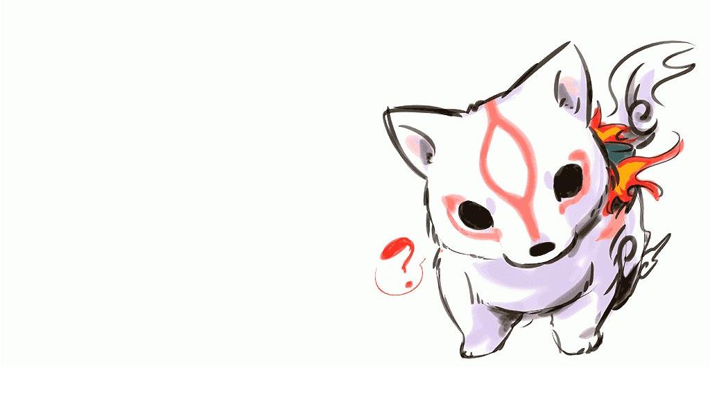 Video Games Okami Chibi Playstation 2 Wolves 1024x600 Wallpaper