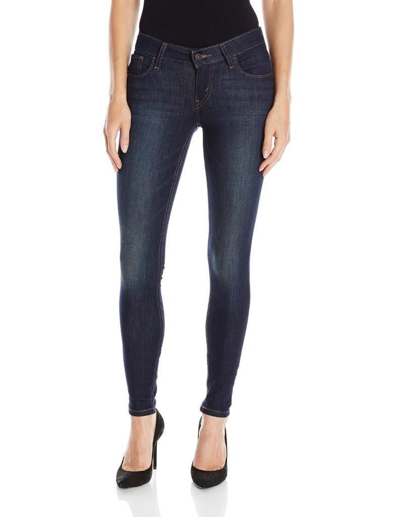 f57fa1c7c85 Levi's 535 Junior's Premium Super Skinny Denim Jeans Leggings 119970265