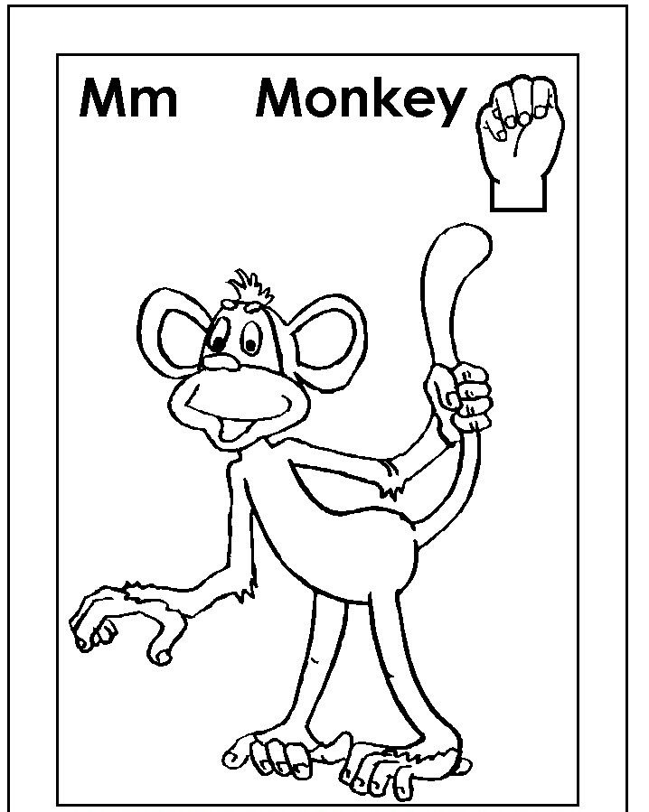 Asl For M Coloring Page Sign Language Colors Sign Language Alphabet Sign Language Letters Kindergartenworksheets asl coloring pages p