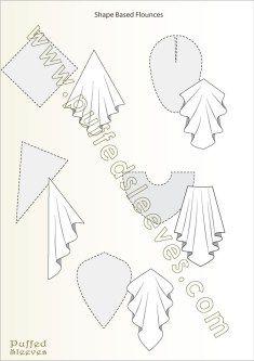 Formas usadas para hacer volaltes