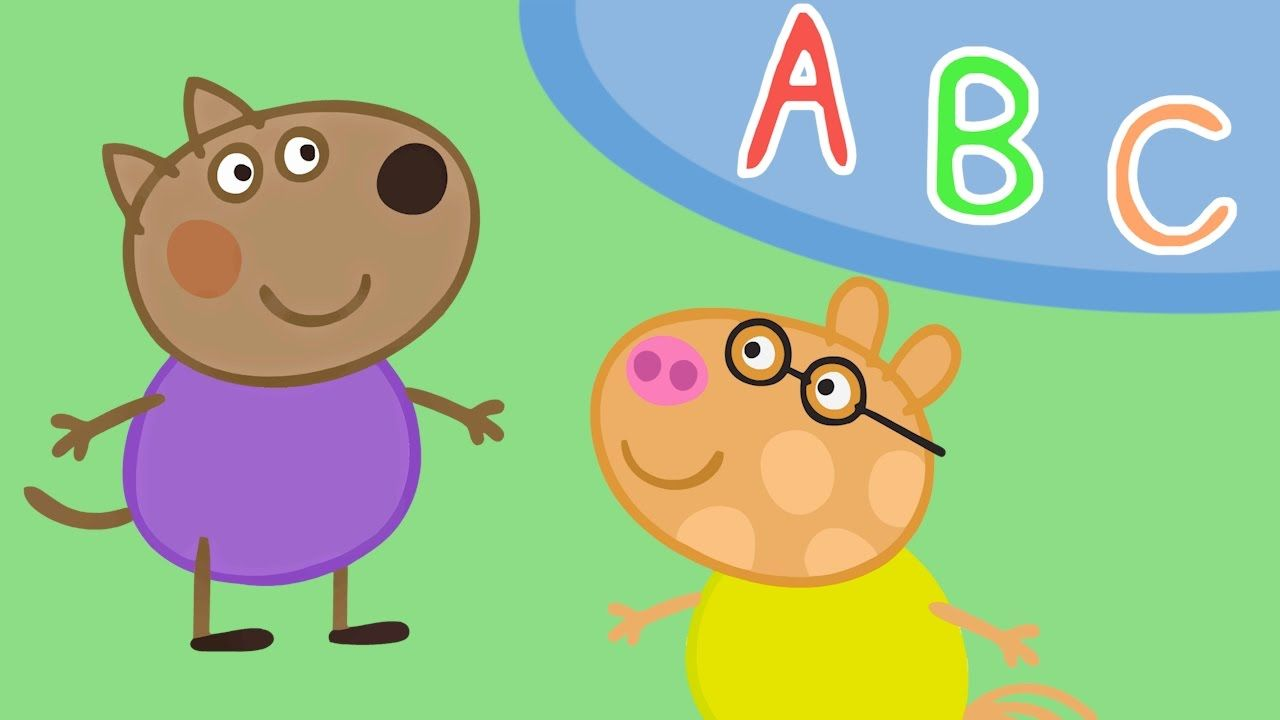 Pedro Pony, Danny Dog, Peppa Pig - Preschool ABC game with Peppa and ...