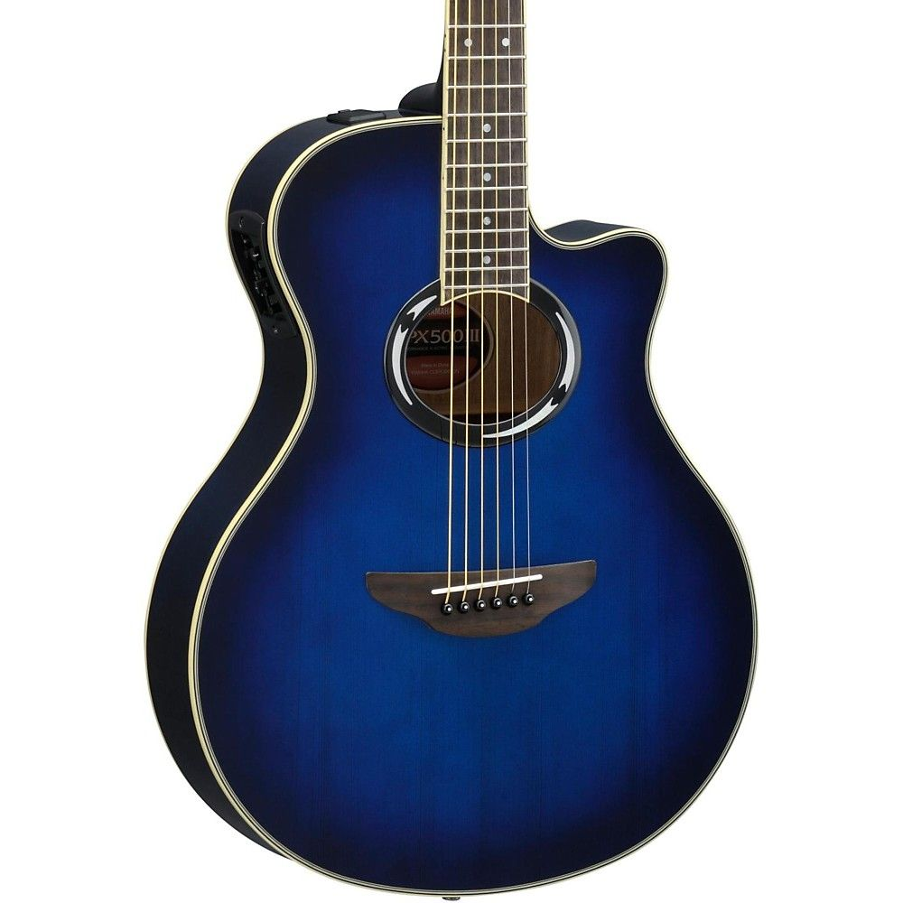 Apx500iii Thinline Cutaway Acoustic Electric Guitar Natural