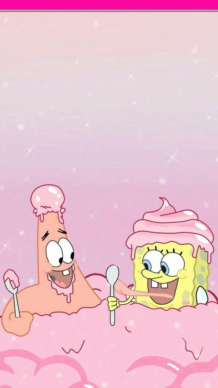 Bff Plz Like And Pin Spongebob Wallpaper Wallpaper Iphone Cute Cartoon Wallpaper