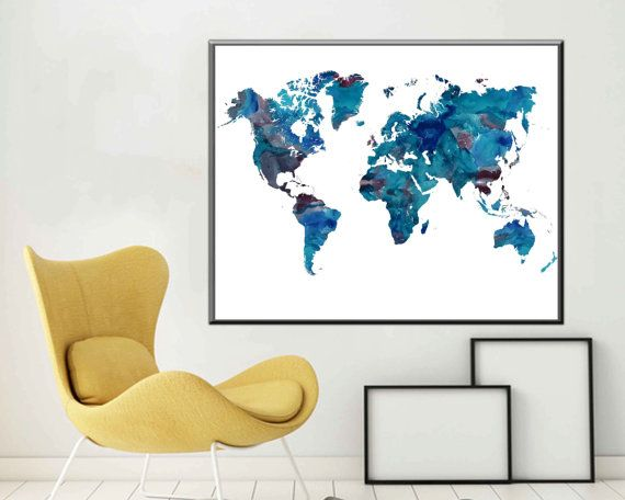 World map large world map poster world map art world map decor world world map large world map poster world map art world map decor gumiabroncs Images