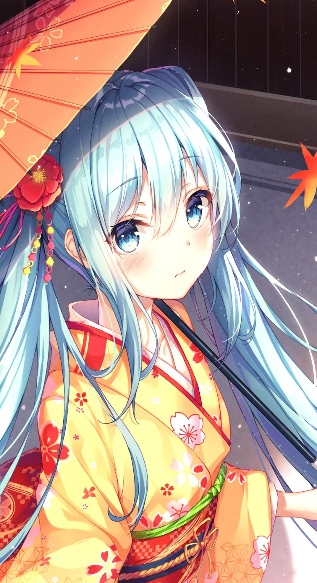 Download Hatsune Miku anime Wallpaper for your Android