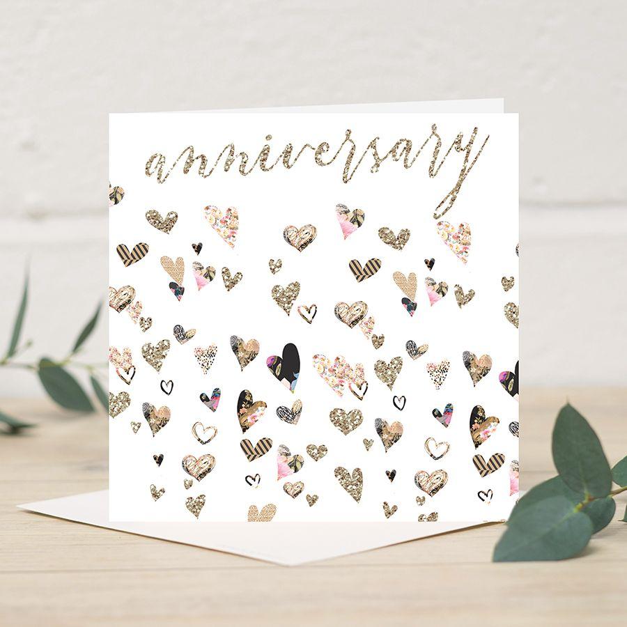 Anniversary Card Stylish Greeting Cards Pinterest
