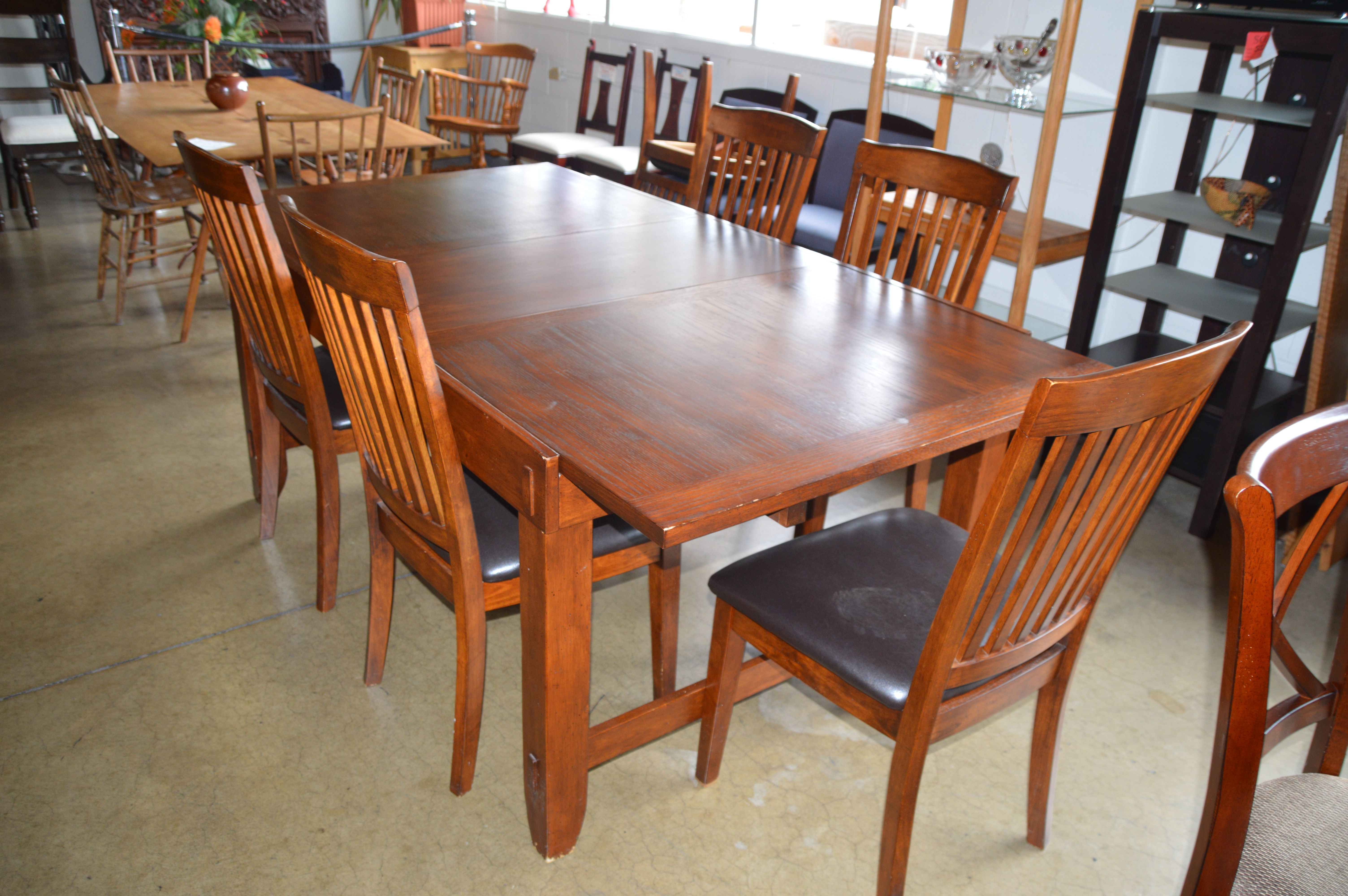 This Is A Beautiful Mission Style Table Leaf And 6 Chairs Dining Room Sets Bedroom Sets Home Decor