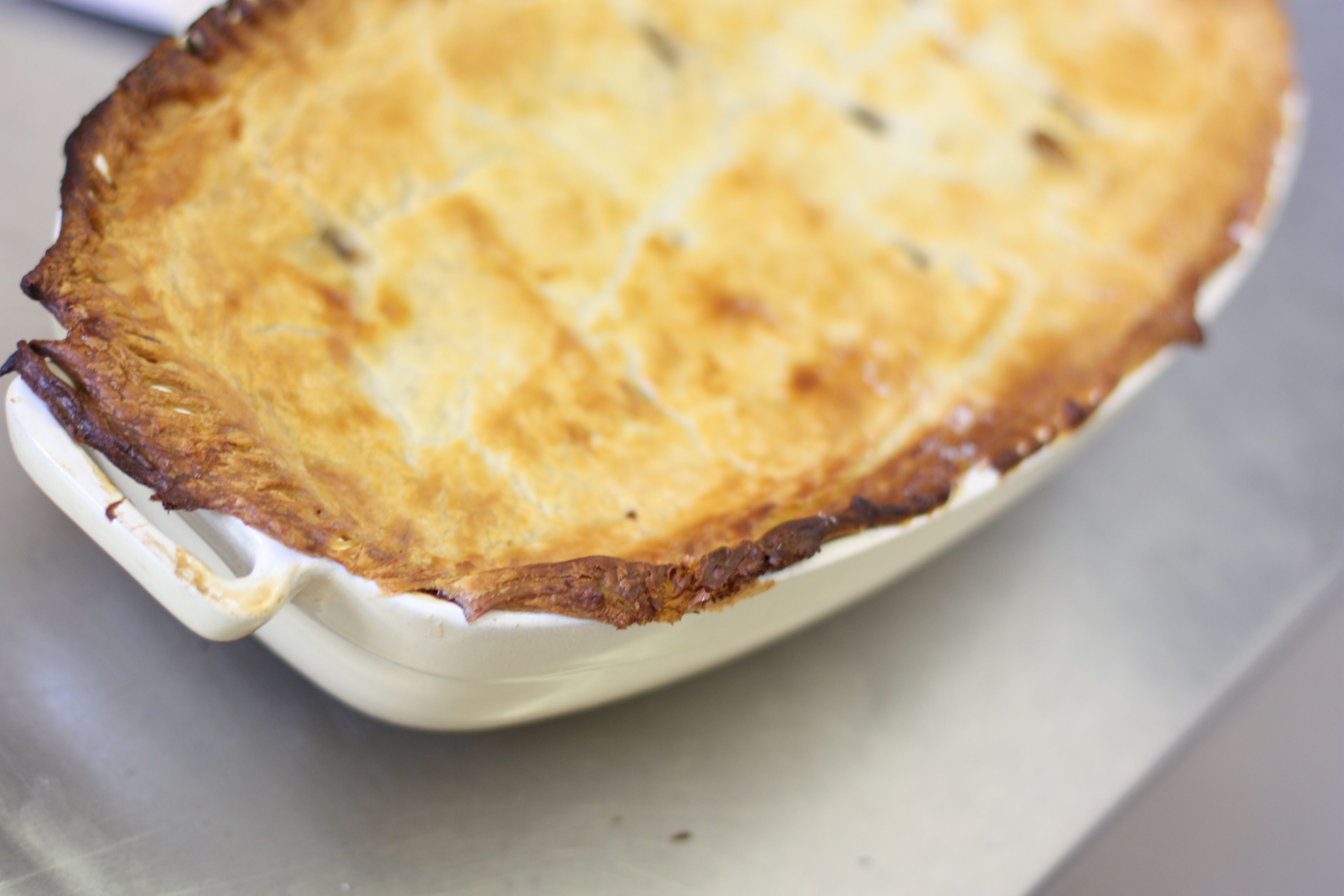 mmm! Jesters' Home-Made Steak and Ale Pie. Available as a ...