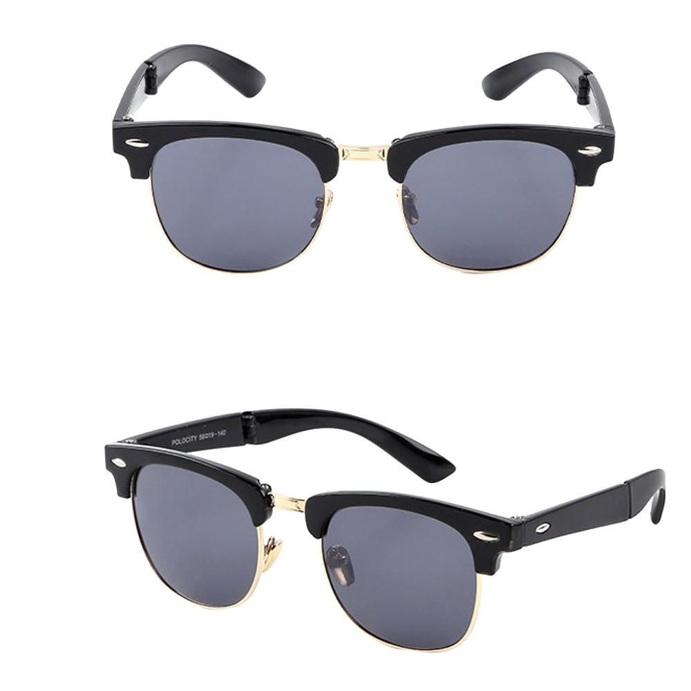 f3f724dd1e Sunglasses Retro Male And Women Driving Classic Glasses Folded Glasses