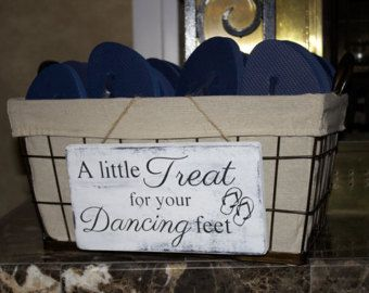 fe2277f87319e A Little Treat For Your Dancing Feet-Wedding Sign