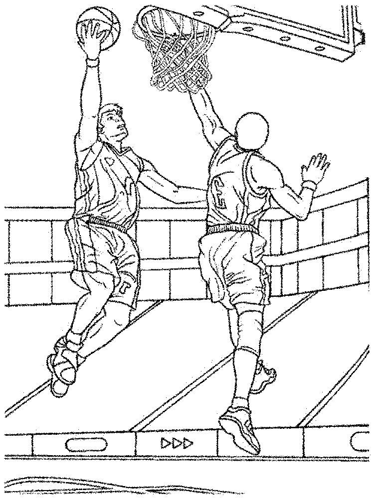 Basketball Backboard Coloring Page Below Is A Collection Of Great Basketball Coloring Page That You Can Download For Basketball Backboard Coloring Pages Color