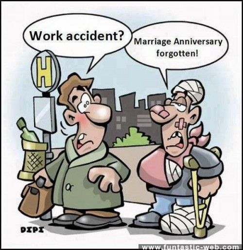 Is This A Work Accident Work Accident Happy Anniversary Meme Funny Cartoons