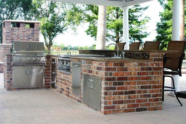 Outdoor Kitchen Outdoor Bar Outdoor Kitchen Lightfoot Landscapes Inc Houston Tx Outdoor Kitchen Decor Outdoor Kitchen Appliances Outdoor Kitchen Design