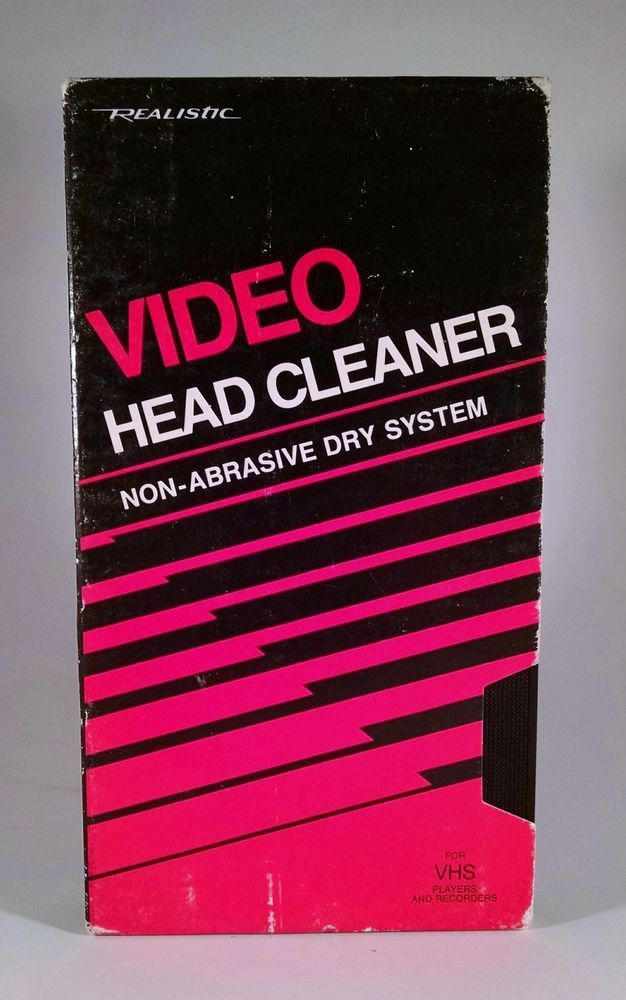 how to clean sony vcr heads