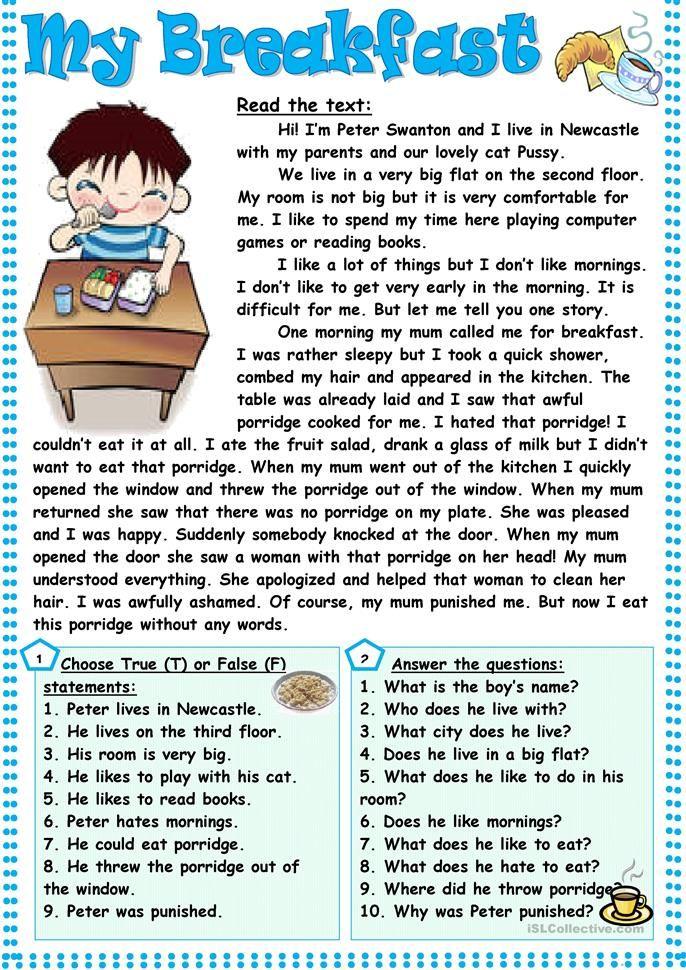 Animal Senses Reading Comprehension Worksheets Reading Comprehension Lessons Reading Comprehension Passages