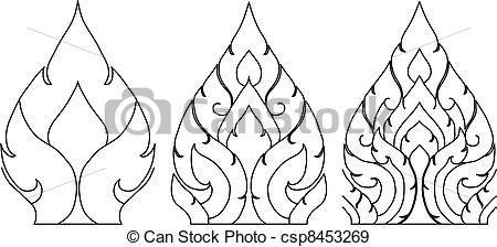 Thai Vector Patterns