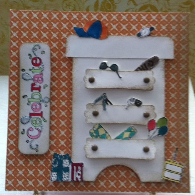 Birthday Card For 16 Year Old Teen Geos Crafty Creations