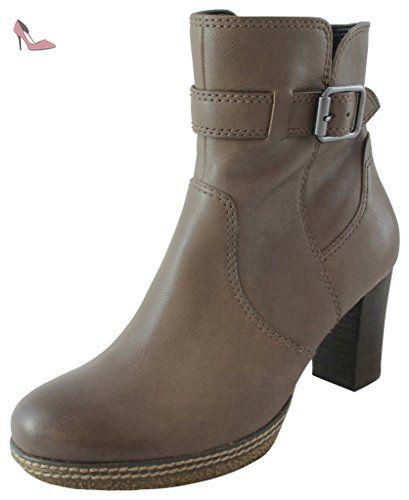 Gabor Shoes Comfort Basic, Bottes Femme, Noir (97 Schwarz Mel.), 37 EU