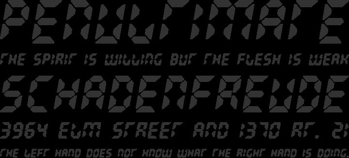 Radioland Font Phrases