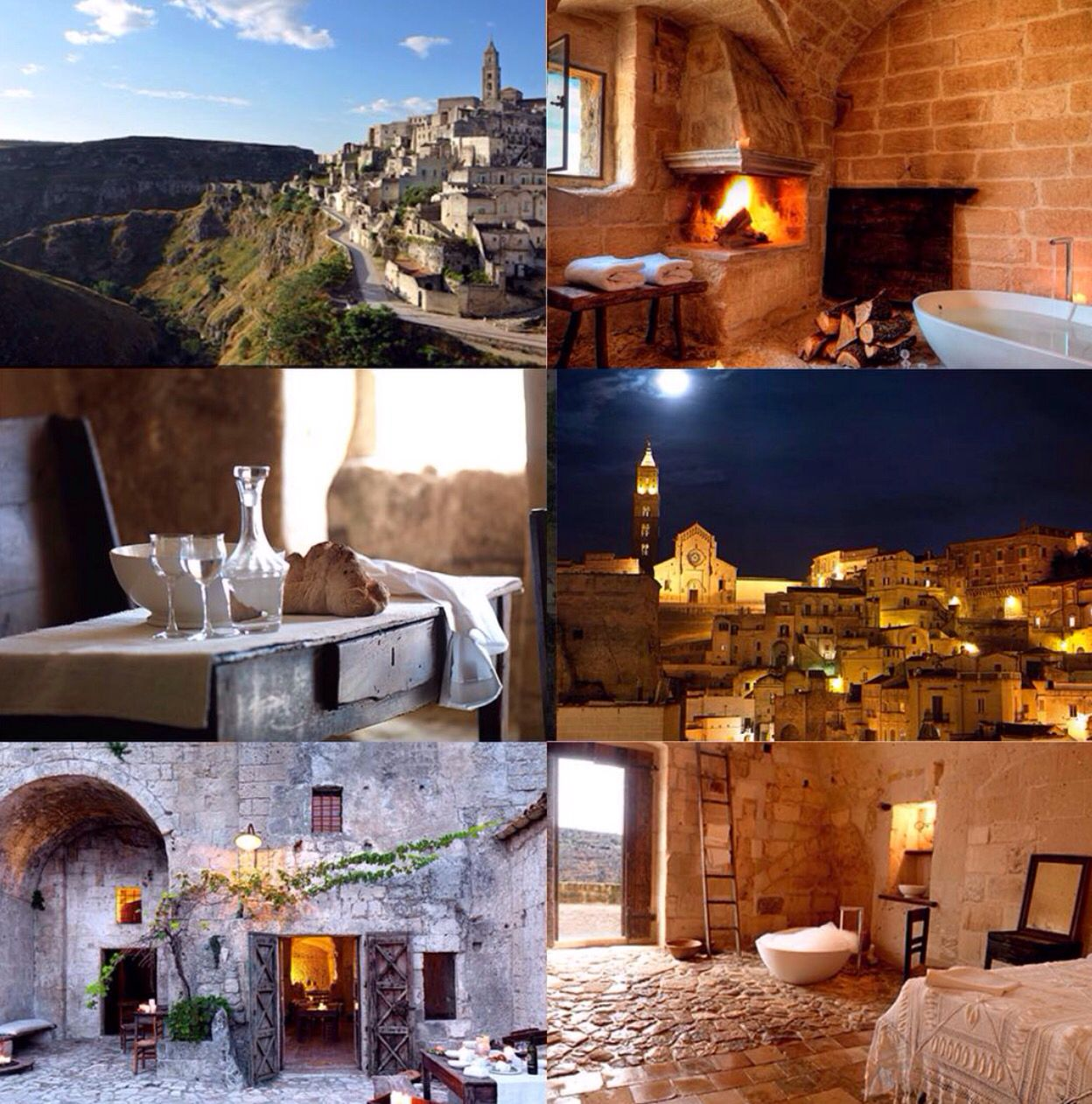 Stay In A Cave Hotel In Matera Southern Italy