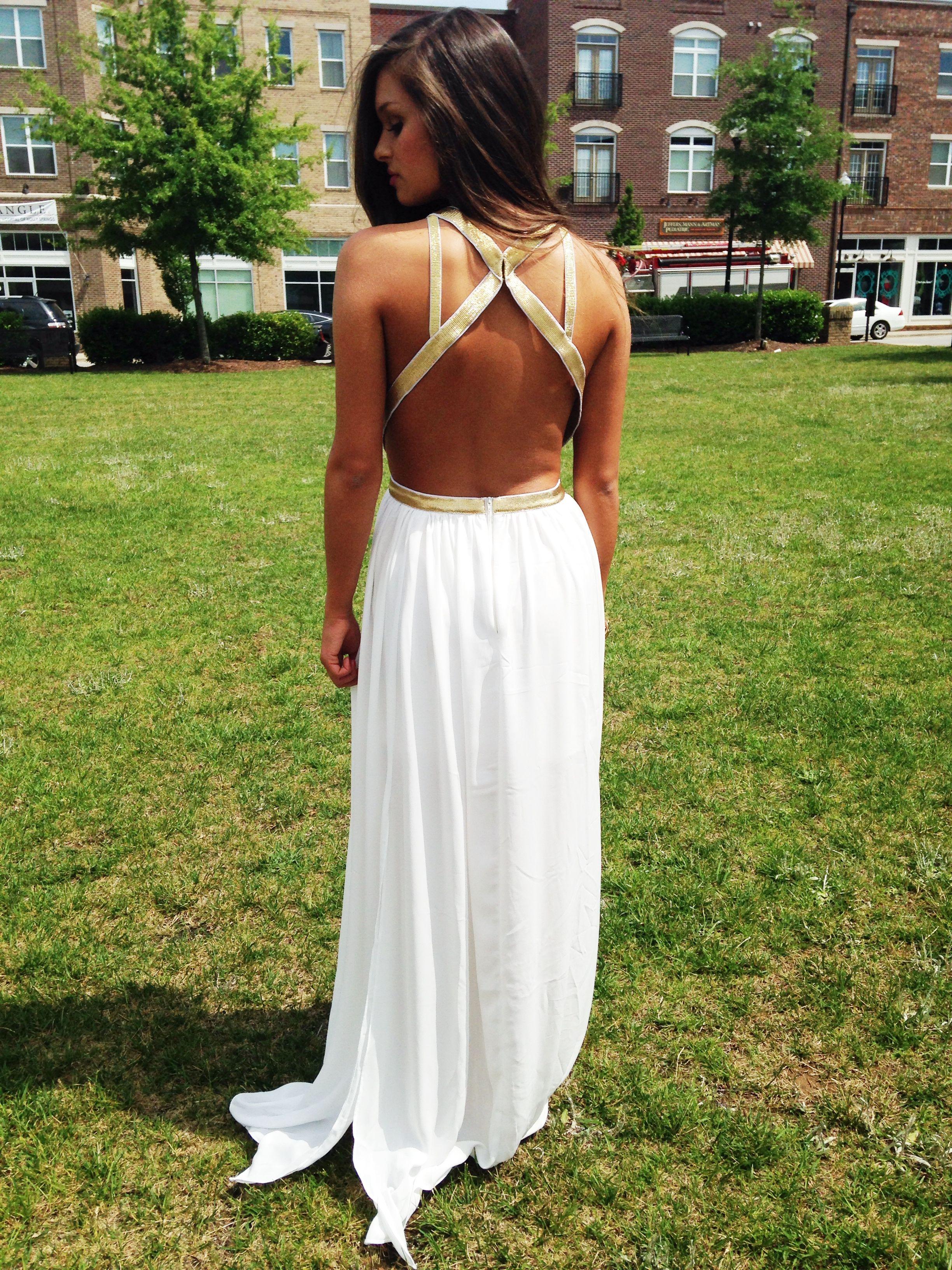 grecian maxi dress #swoonboutique