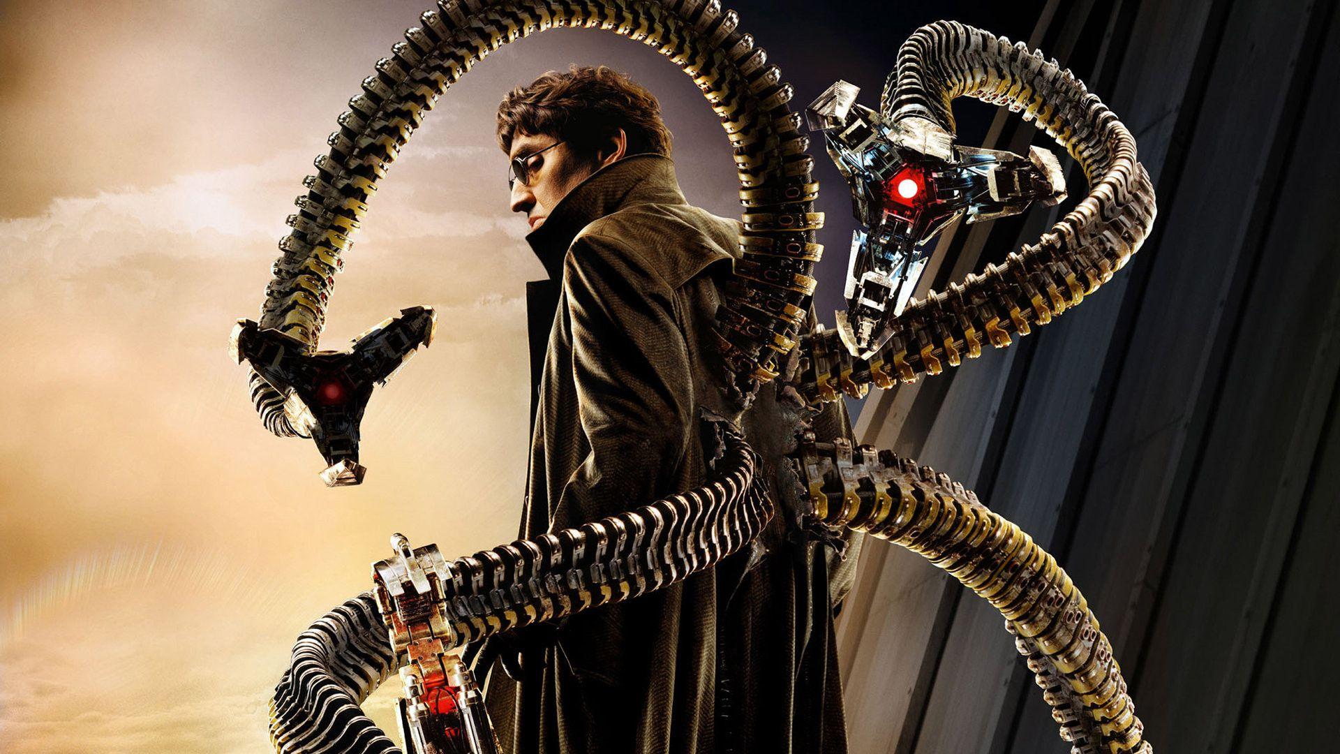 Doctor Octopus (Dr. Otto Octavius) | Peliculas de superheroes, Spider-man,  El hombre araña 2