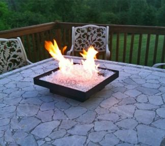 Portable Glass Rv Firepits Tooo Cool With Images Diy Fire