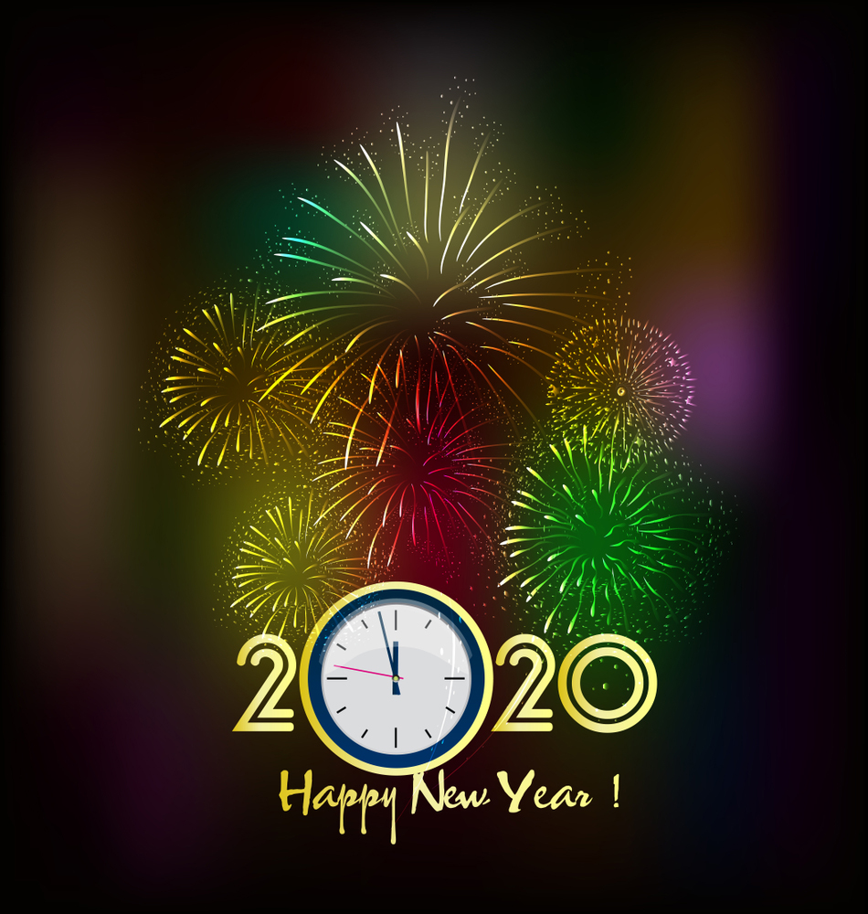 Happy New Year Image 2020 Blessings Happy New Year Greetings Happy New Year Images Happy New Year Pictures
