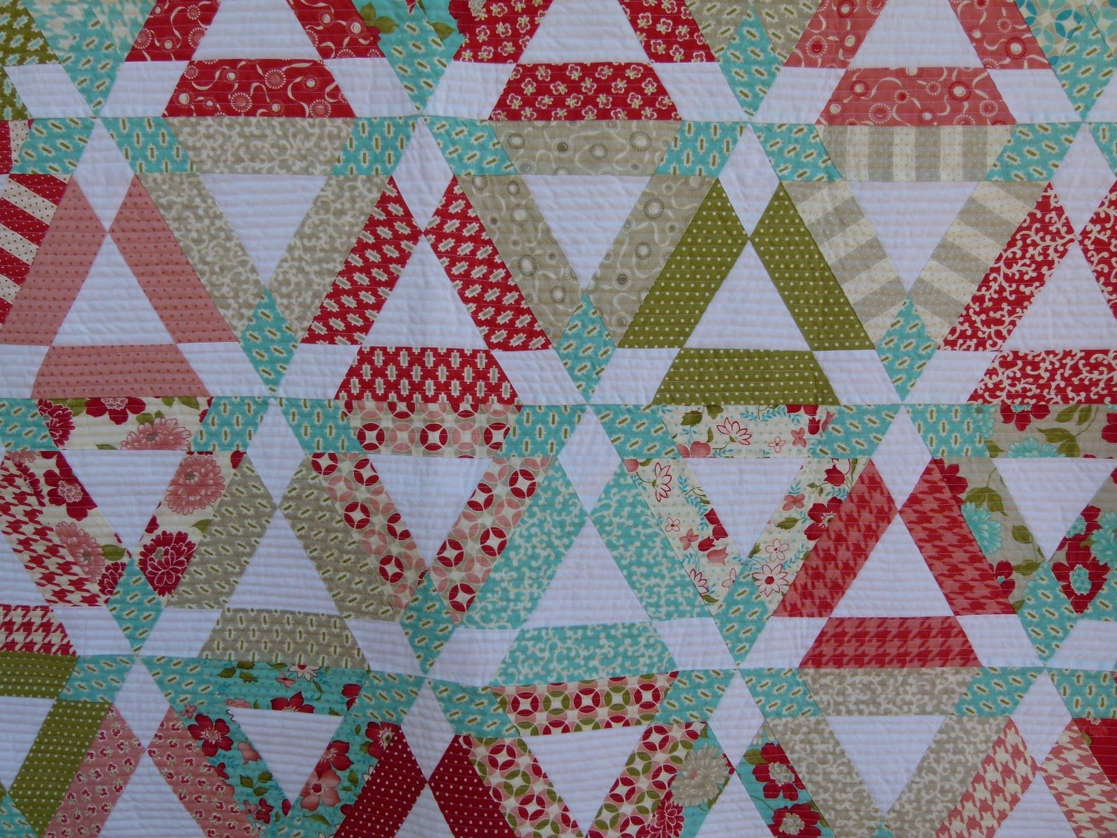 Easy Hopscotch Quilt Pattern Fabric Is Vintage Modern By Bonnie