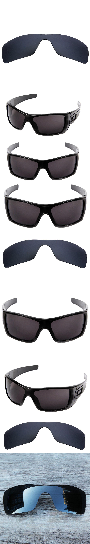 b6b46aa618 Inew Black Iridium polarized Replacement Lenses for Batwolf 100% UVA   UVB