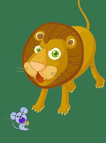 Fábulas para niños: El león y el ratón | Spanish ideas | Pinterest