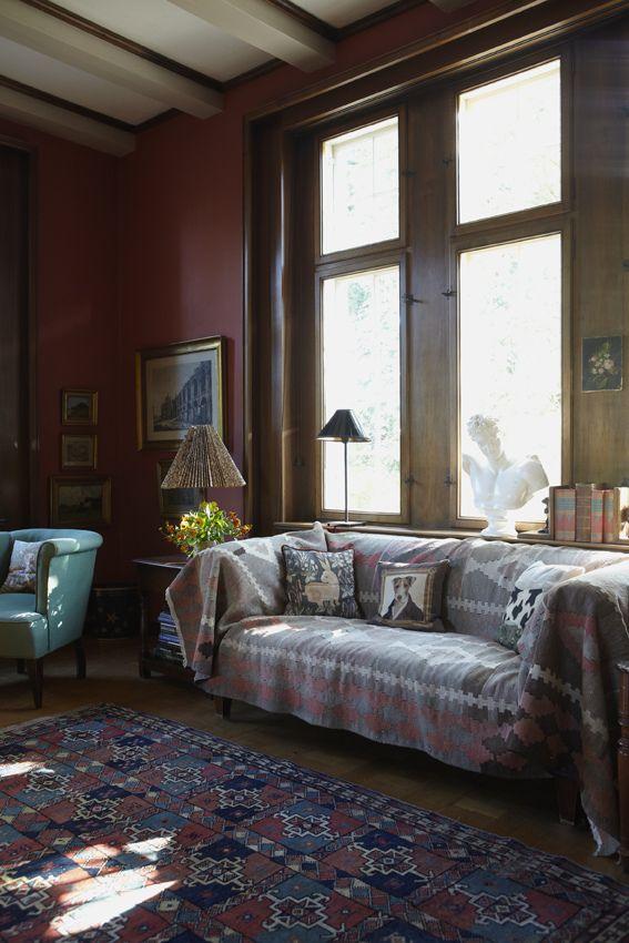 Katrine Mortensen-Larsen  / KML Design /  Kira Brandt {eclectic bohemian traditional vintage modern living room} | by recent settlers