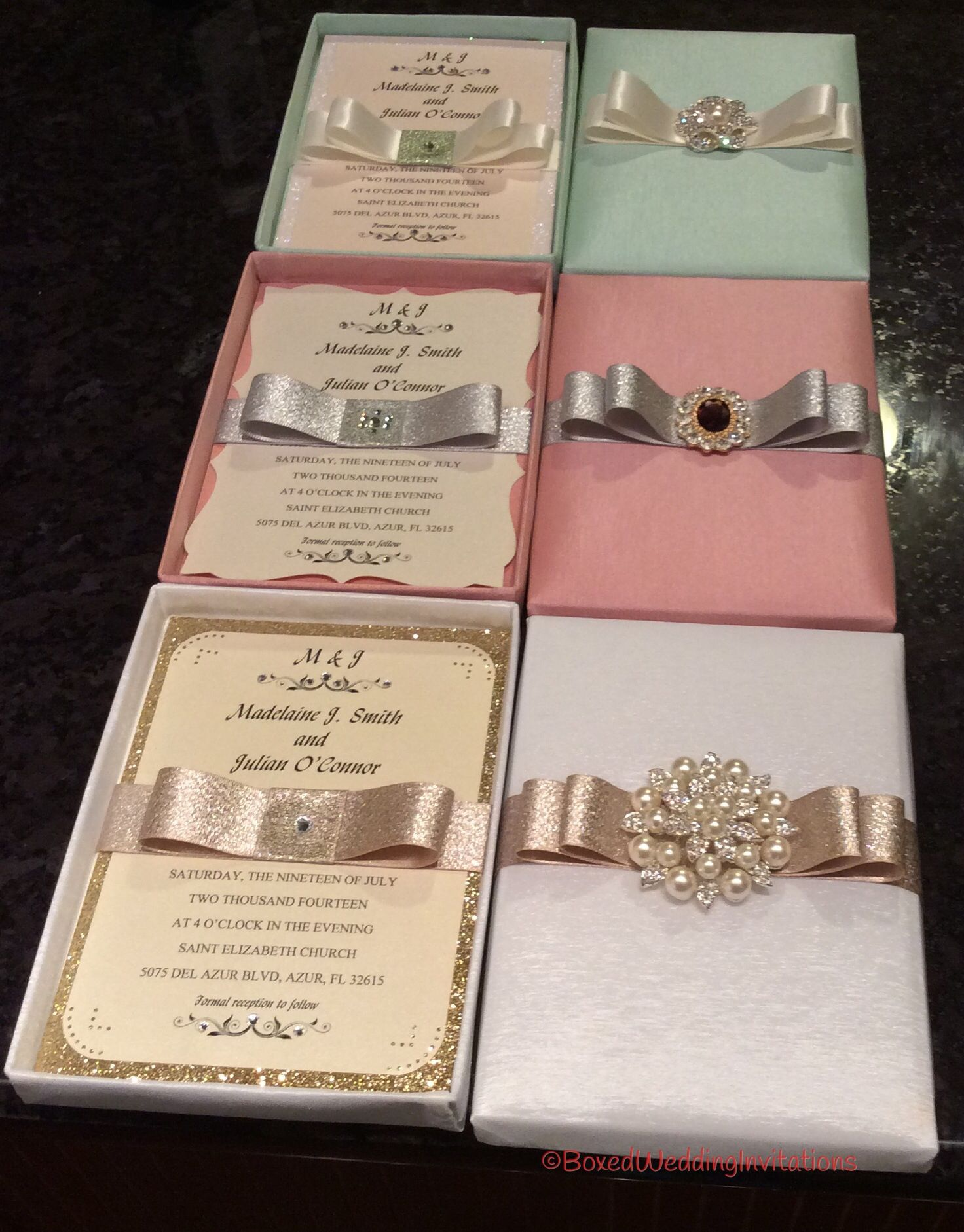 Beautiful luxury wedding invitation boxes wedding for Luxury handcrafted wedding invitations