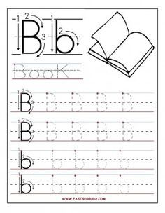 Printable letter b tracing worksheets for preschool printable printable letter b tracing worksheets for preschool printable coloring pages for kids spiritdancerdesigns Image collections
