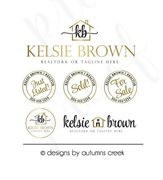 Real Estate Logo Design Realtor Logo Realtor Branding Broker