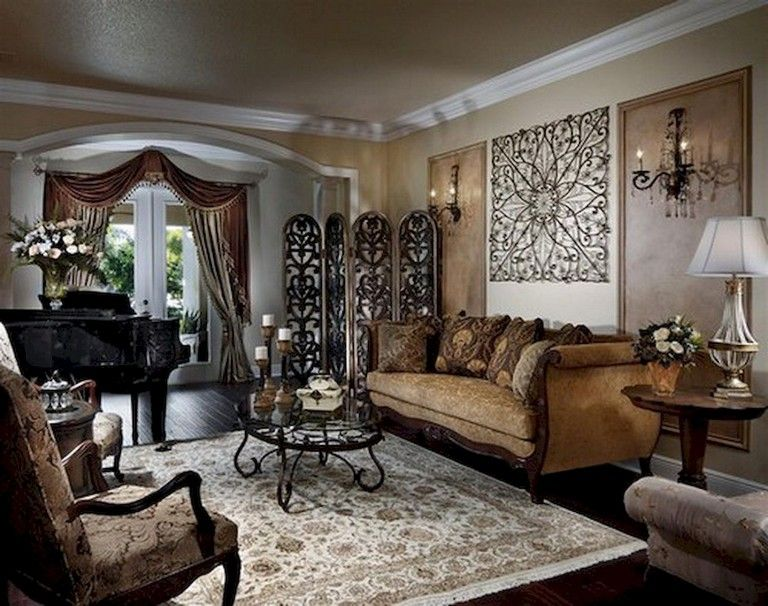 15+ OPTIMUM TRADITIONAL LIVING ROOM DECOR IDEAS AND ... on Traditional Kitchen Wall Decor  id=32317