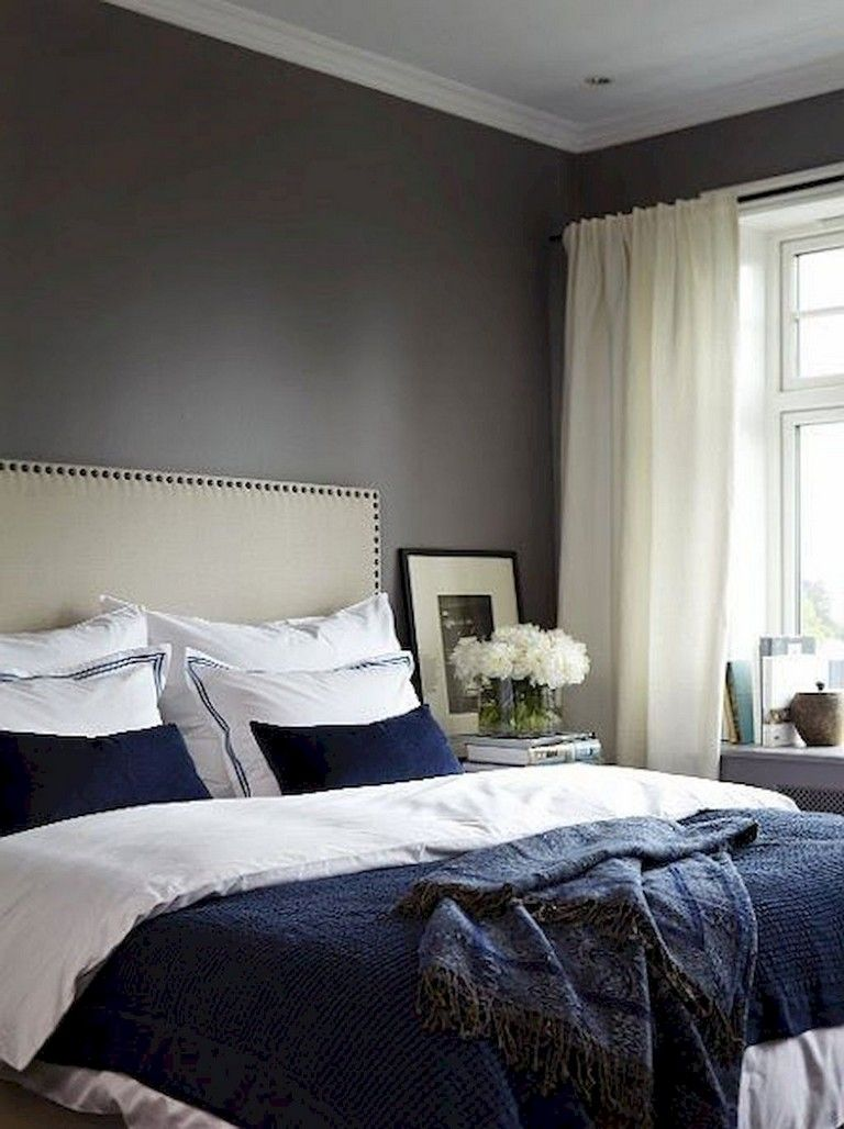 37+ Amazing Navy Master Bedroom Decor Ideas - Page 30 of ...