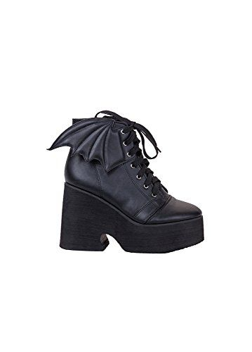 996b879a6eed8 Iron Fist Bat Wing Boot Women's Black Shoes (6) Iron Fist http:/