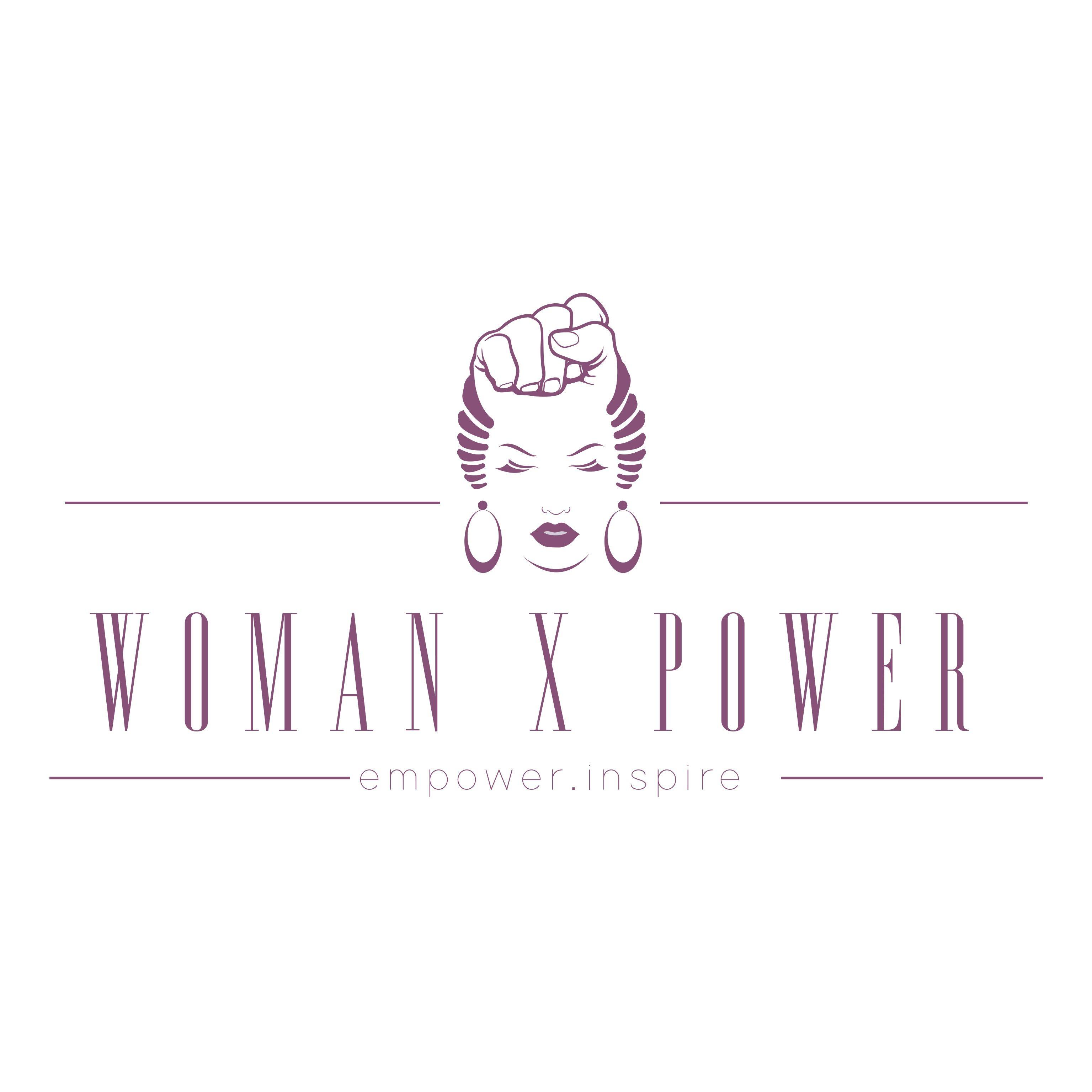 Woman X Power Logo By Nothando Tembe Women Empowerment Logo