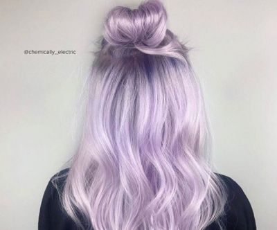 how to get light purple hair