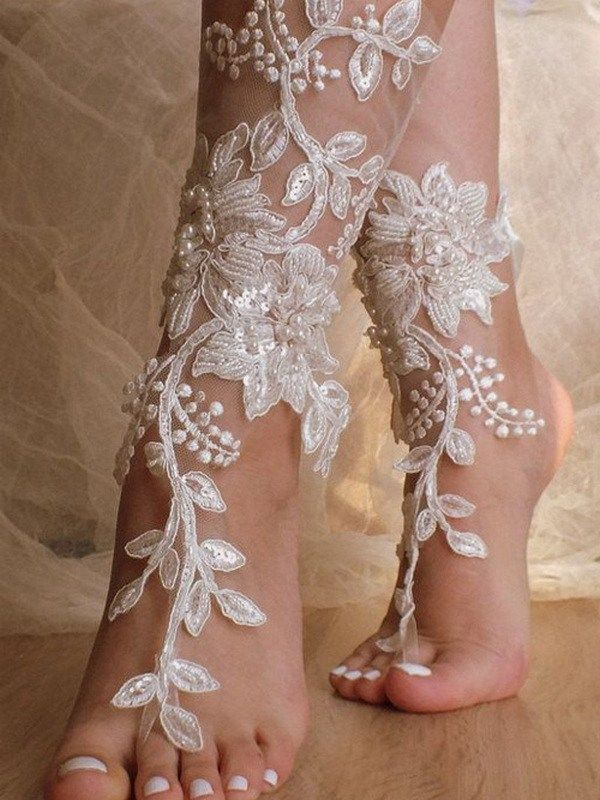 Beach Wedding Shoes and Sandals ideas 23 is part of Beach wedding shoes, Winter wedding shoes, Bridal sandals, Wedding shoes, Beach wedding, Bridal barefoot sandals - Beach Wedding Shoes and Sandals ideas 23
