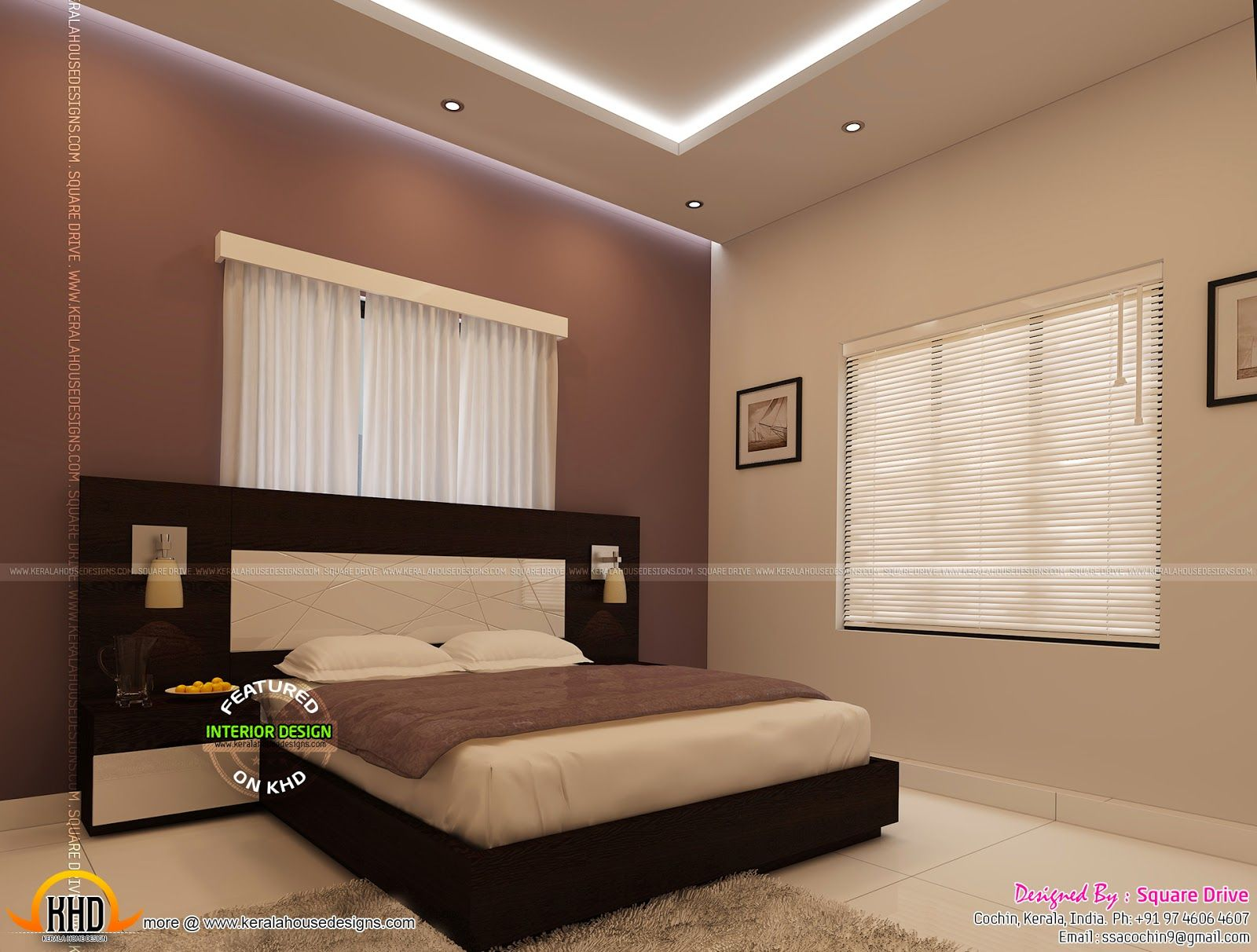 Bedroom Interior Designs Kerala Home Design And Floor Plans Quinta