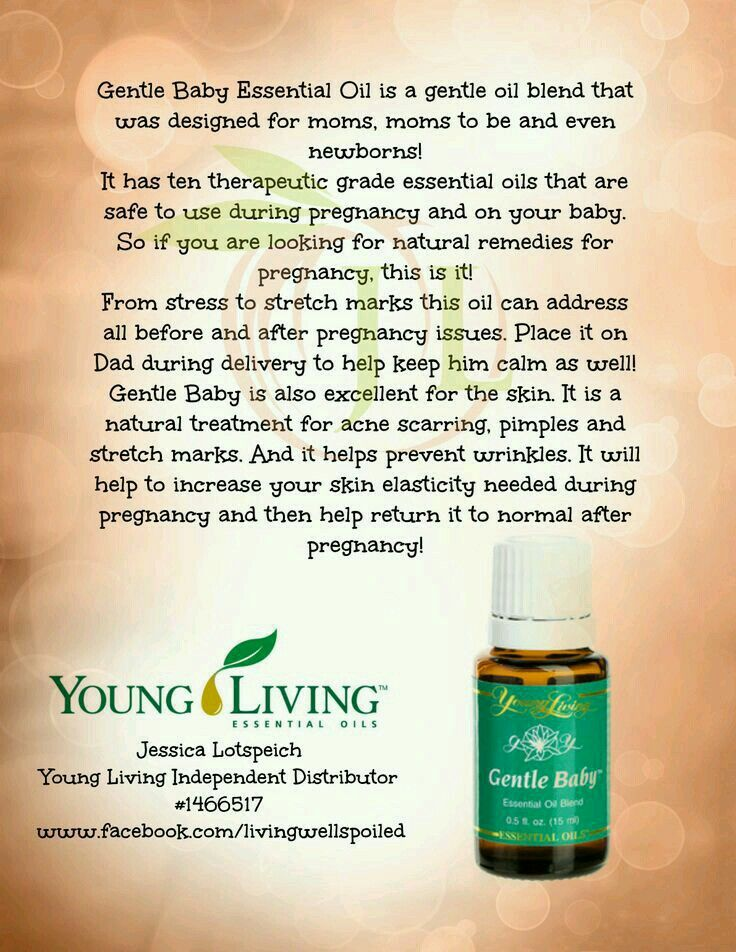 Gentle Baby Young Living Essential Oils For Babies Gentle Baby Essential Oil Young Essential Oils
