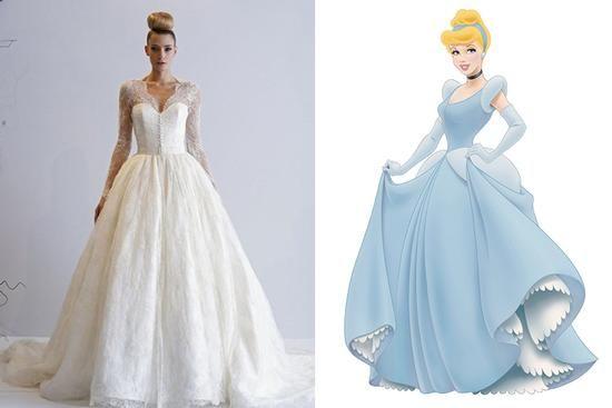 If Disney Princesses Came To Kleinfeld Blog Bridal GownsWedding