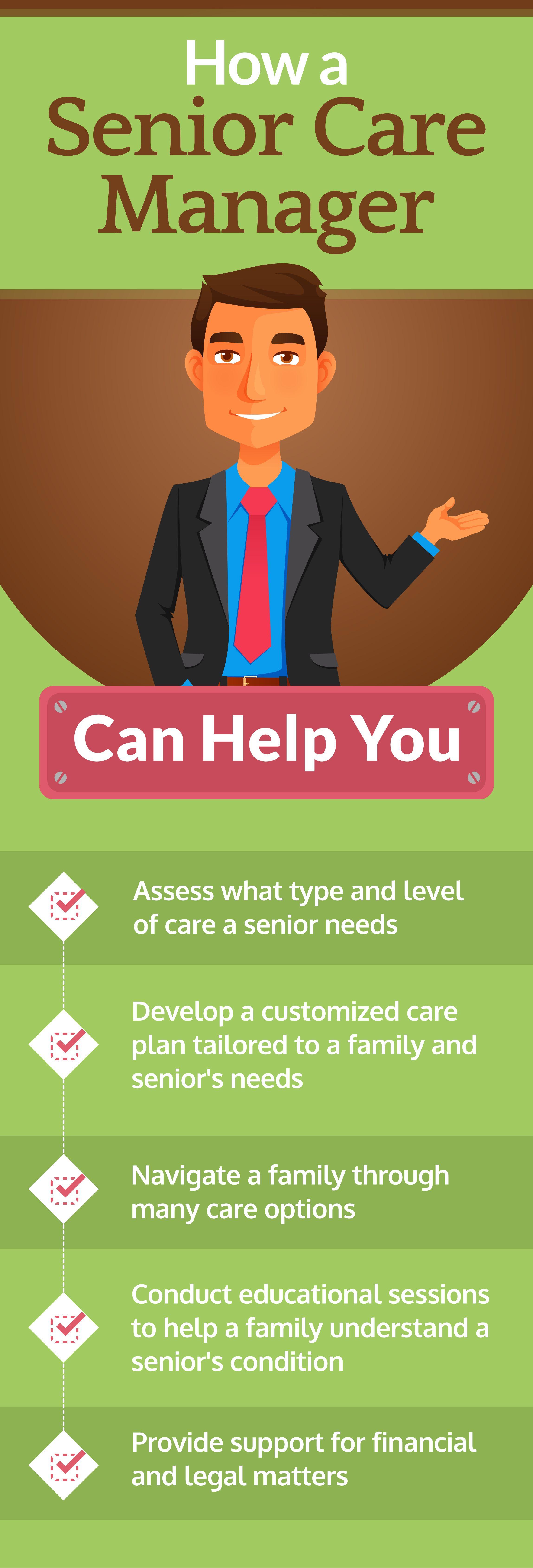 How a Senior Care Manager Can Help You Senior care, Care