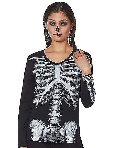 Skeleton Amused Shirt