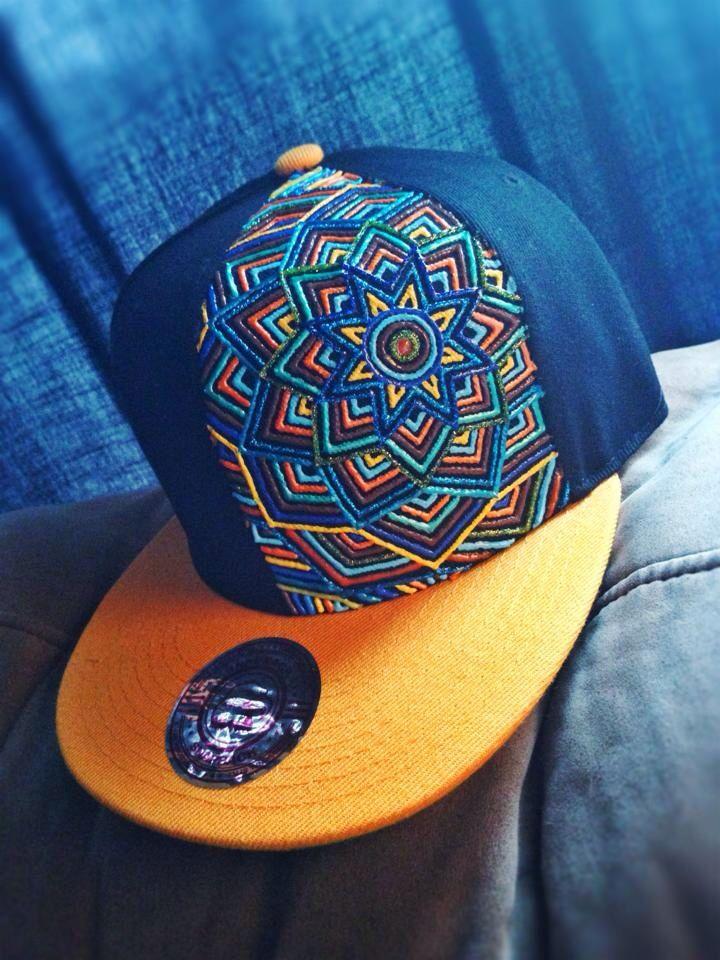 Mandala Minds Custom Snapback Lids Honey Bee Bee Fancy Hats Swag Hats Snapback Hats Men