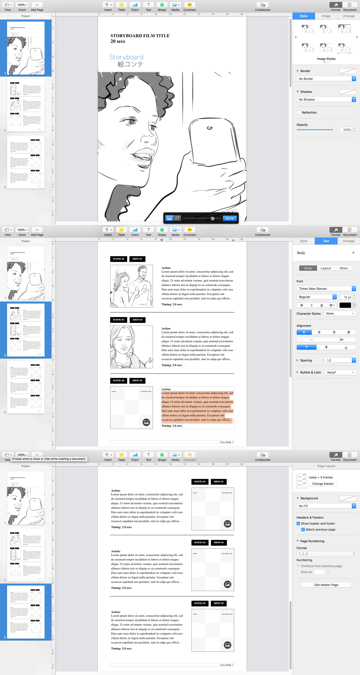 storyboard template app.html